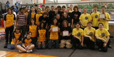 PARC XII Winning Alliance - L>R Teams 1640, 222 & 2753