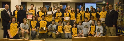 DASD School Board recognises Team 1640
